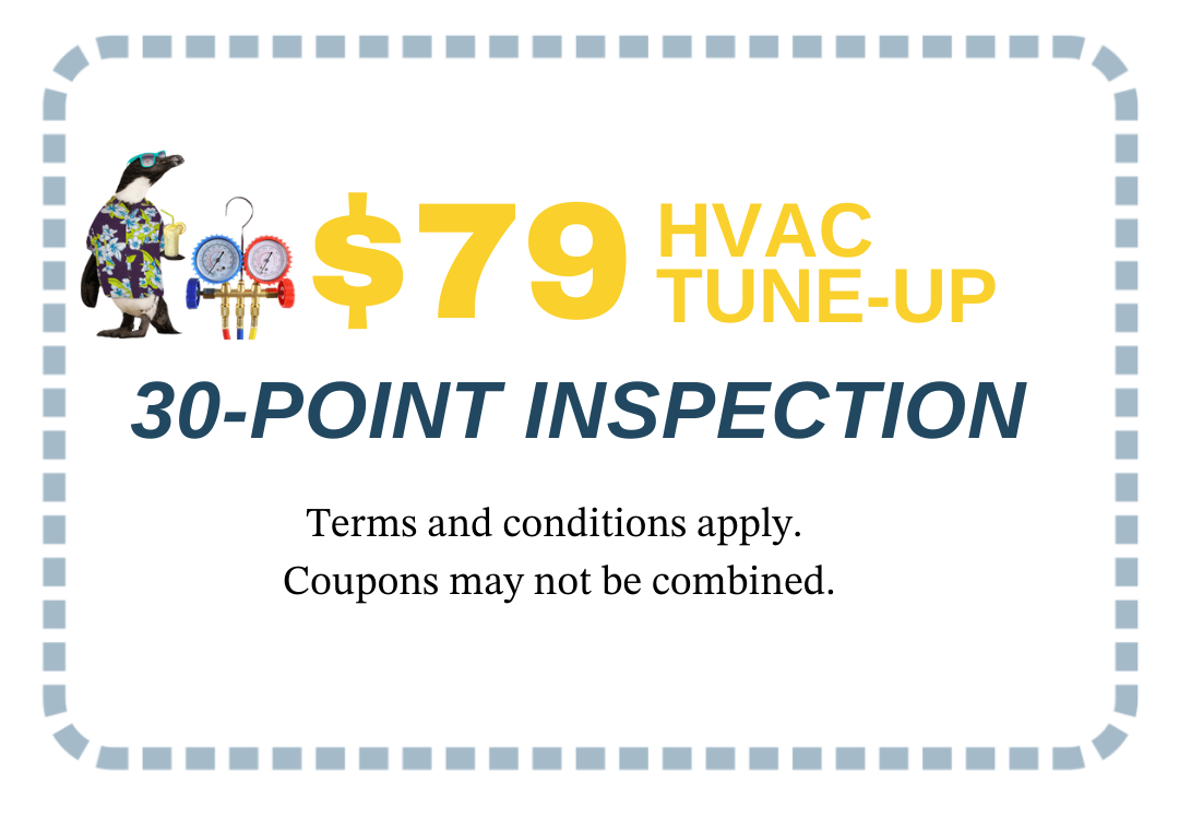 HVAC tune-up coupon