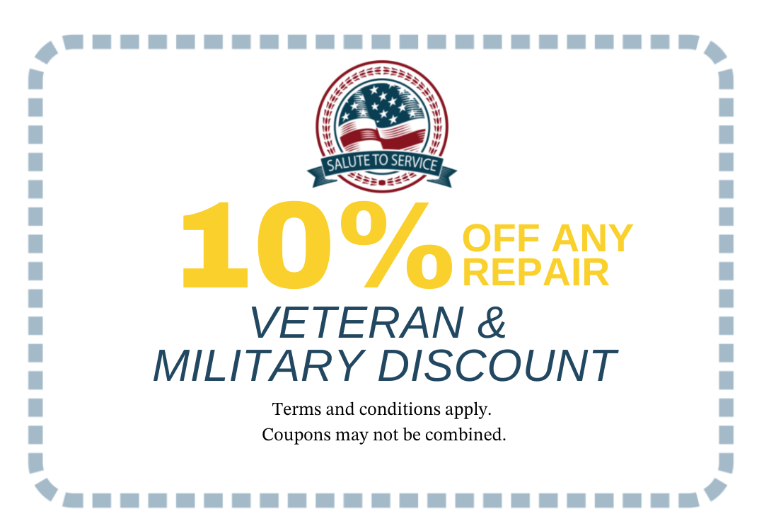 miltary discount coupon